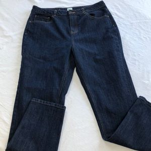 A New Day straight leg jeans, size 8